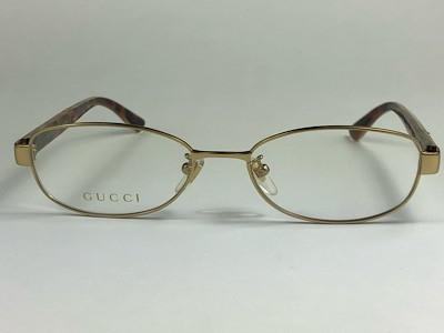 Gucci - GG 0380OJ - Dourado - 003 - 53/17 - Armação para Grau