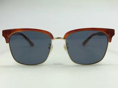 Gucci - GG 0382S - Havana - 005 - 56/18 - Óculos de Sol