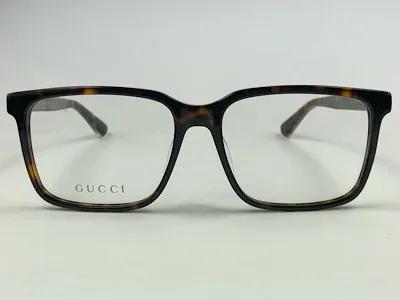 Gucci - GG 0385OA - Havana -002 - 55/16 - Armação para Grau