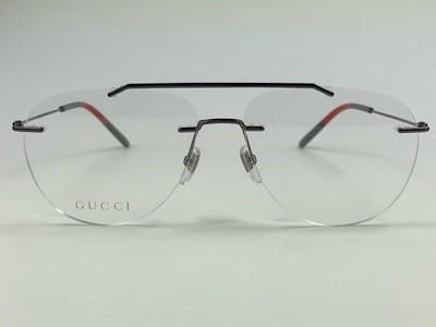 Gucci - GG 0398O - Grafite - 001 - 58/15 - Armação para Grau