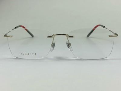 Gucci - GG 0399O - Dourado - 004 - 56/17 - Armação para Grau
