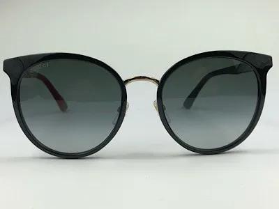 Gucci - GG 0405SK - Preto - 003 - 56/20 - Óculos de Sol