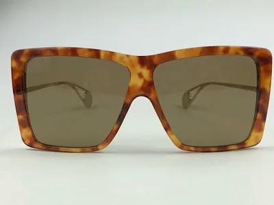 Gucci - GG 0434S - Havana - 003 - 61/12 - Óculos de Sol
