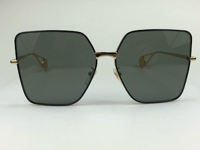 Gucci - GG 0436S - Dourado - 002 - 61/14 - Óculos de Sol
