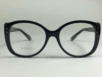 Gucci - GG 0474O - Preto - 001 - 54/18 - Armação para Grau