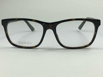 Gucci - GG 0490O - Havana - 007 - 55/17 - Armação para Grau