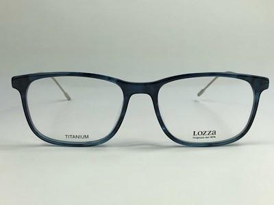Lozza - VL4172 - Azul - 06WR - 55/18 - Armação para Grau