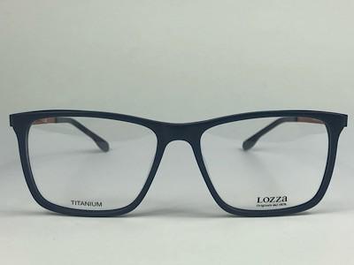 Lozza - VL4199 - Azul - 7PAM - 55/17 - Armação para Grau