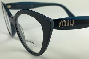 Miu Miu - VMU 01R - Havana - 7S0-1O1 - 52/18 - Armação para Grau