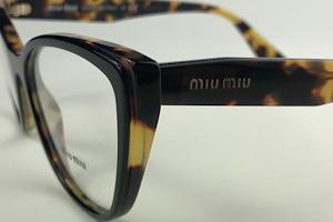 Miu Miu -VMU 04S - Havana - 389-1O1 - 54/17 - Armação para Grau