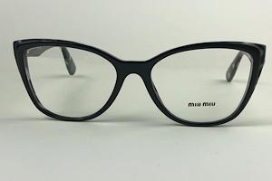 Miu Miu - VMU 04S - Preto - 06E-1O1 - 54/17 - Armação para Grau