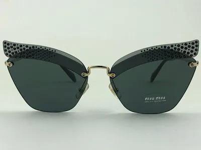 MiuMiu - SMU 56T - Dourado - XEJ-1A1 - 63/16 - Óculos de Sol