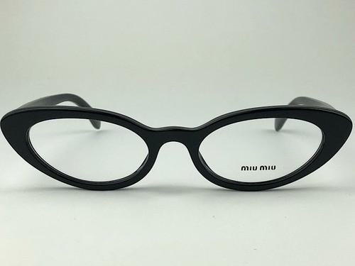 MiuMiu - VMU 01S - Preto - 1AB-1O1 - 52/19 - Armação para Grau