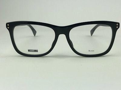 Moschino - MOS501 - Preto - 807 - 54/16 - Armação pra Grau