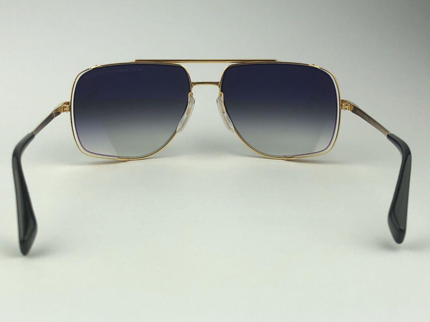 Óculos de sol Dita Midnight Special GLD-BLK
