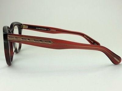 Oliver Peoples - OV5408U - 1675 - Vermelho - 50/20 - Armação para Grau