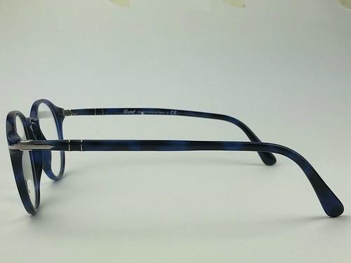 Persol - 3174-V - Azul Escuro - 1099 - 51/21 - Armação para Grau
