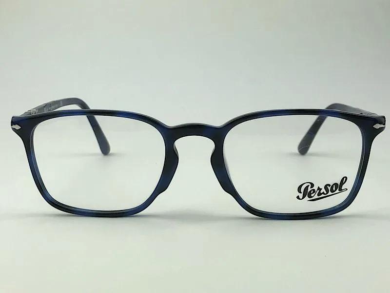Persol - 3227-V - Azul Escuro - 1099 - 51/21 - Armação para Grau