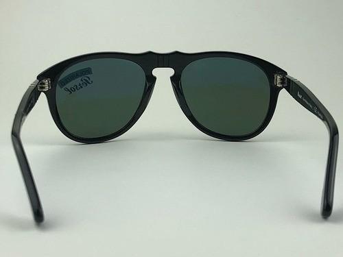 Persol - 649 - Preto - 95/58 - 54/20 - Óculos de Sol