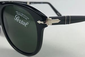 Persol - 714SM - Preto - 95/31 - 54/21 - Óculos de Sol