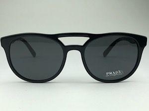 Prada  PR13TS - Preto - 1AB-5S0 - 54/19 - Óculos de sol