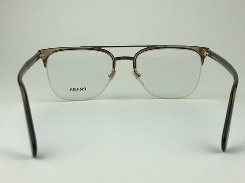 Prada - PR63UV - Preto e Prateado - LFD-1O1 - 54/20 - Óculos para Grau