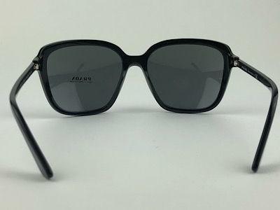 Prada - SPR 10V - Preto - 1AB-5S0 - 58/17 - Óculos de Sol