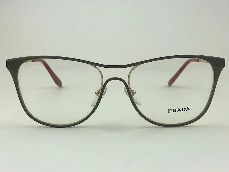 Prada - VPR59X - Castanho - 554-1O1 - 53/16  -  Armação para Grau