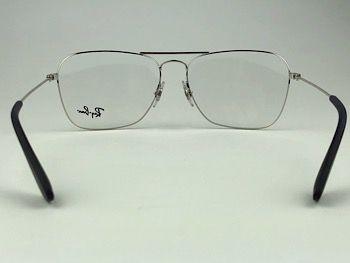 Ray Ban Optical  RX3610V - Prateado - 2501 - 58/15 - Armação para grau