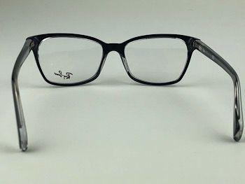 Ray Ban Optical  RX5362 - Preto - 2034 - 54/17 - Armação para grau