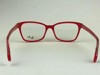 Ray Ban Optical  RX5362 - Vinho - 5777 - 54/17 - Armação para grau