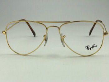 Ray Ban Optical  RX6049 - Dourado - 2500 - 52/14 - Armação para grau