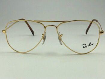 Ray Ban Optical  RX6049L - Dourado - 2500 - 55/14 - Armação para grau