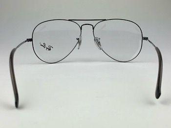 Ray Ban Optical  RX6049L - Prateado - 2502 - 55/14 - Armação para grau