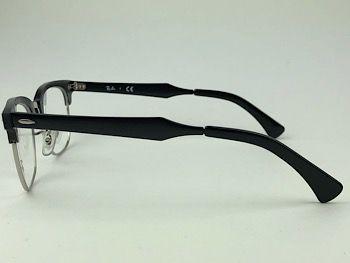 Ray Ban Optical  RX6295 - Preto - 2804 - 51/21 - Armação para grau