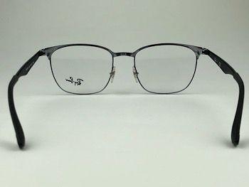 Ray Ban Optical  RX6356 - Preto - 2861 - 52/18 - Armação para grau