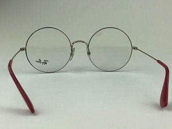 Ray Ban Optical  RX6392 - Prateado - 2501 - 53/20 - Armação para grau