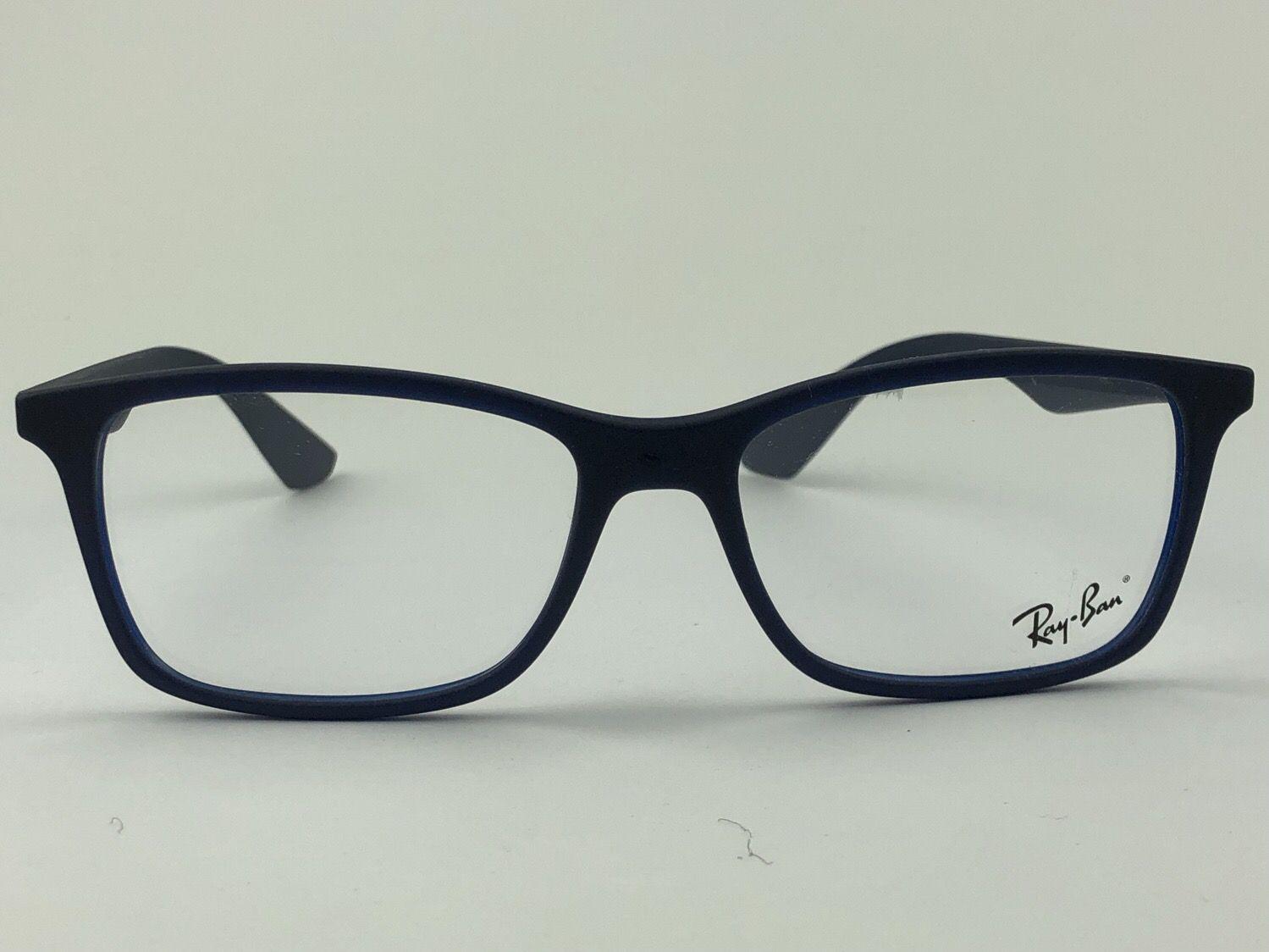 Ray Ban Optical - RX7047L - Azul - 5450 - 56/17 - Armação para grau