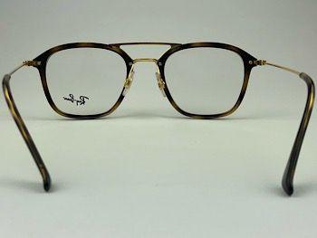 Ray Ban Optical  RX7098 - Havana - 2012 - 49/21 - Armação para grau
