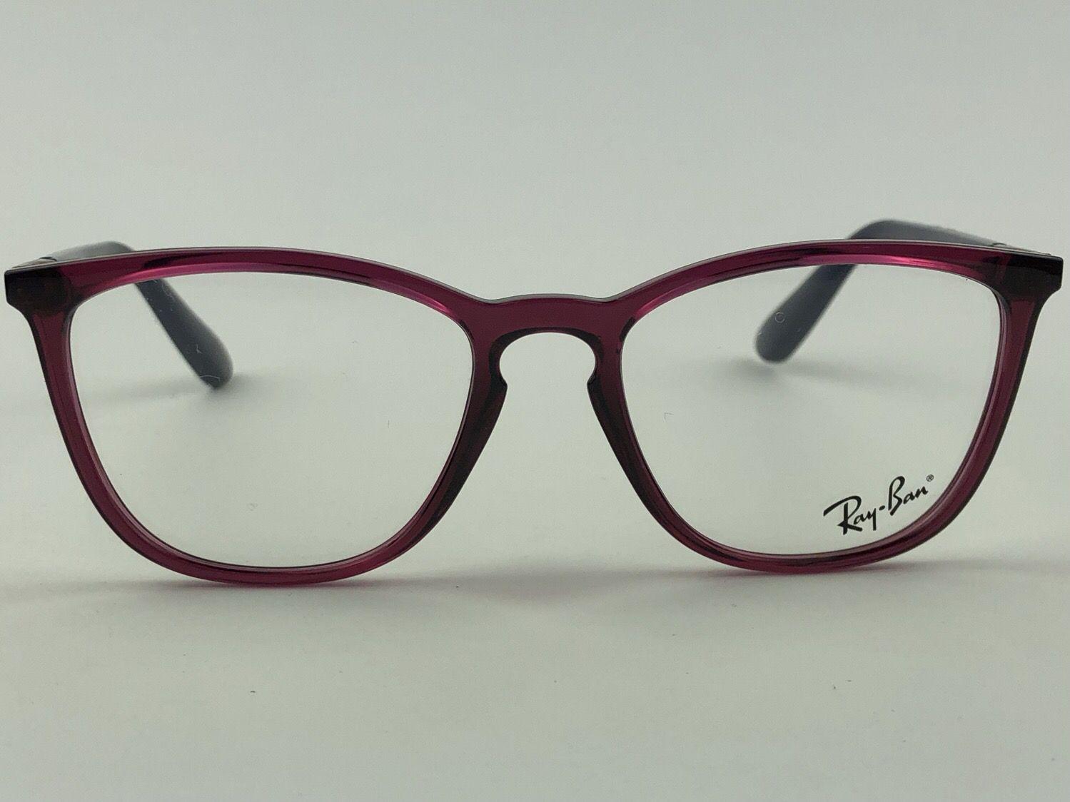 Ray Ban Optical - RX7136L - Vinho - 5859 - 52/17 - Armação para grau