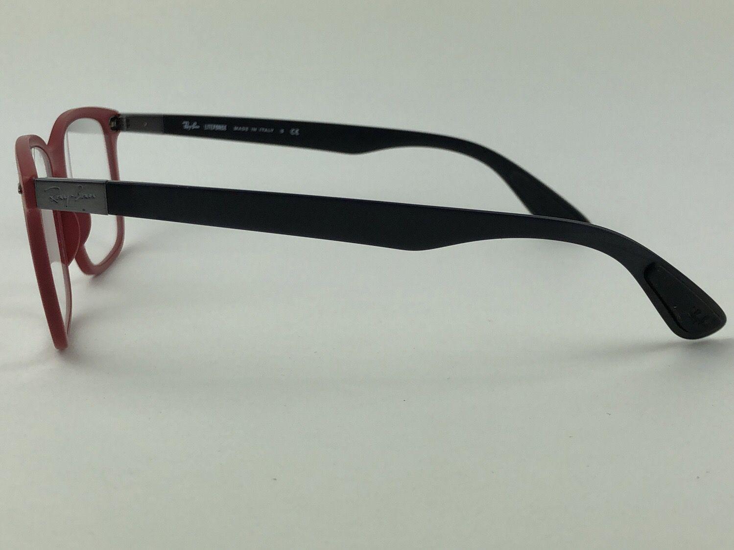 Ray Ban Optical - RX7144 - Vermelho - 5772 - 53/18 - Armação para grau