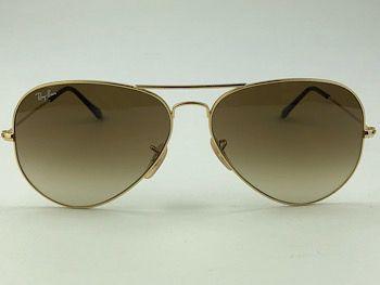 Ray Ban  RB3025L - Dourado - W3234 - 55/14 - Óculos de sol