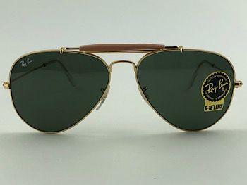 Ray Ban - RB3407 - Dourado - 001 - 58/14 - Óculos de sol
