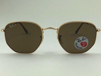 Ray Ban  RB3548-N - Dourado - 001/57 - 54/21 - Óculos de sol