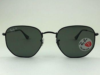 Ray Ban  RB3548-N - Preto - 002/58 - 54/21 - Óculos de sol