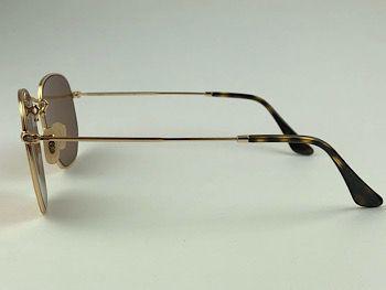 Ray Ban  RB3548-NL - Dourado - 001/Z2 - 51/21 - Óculos de sol