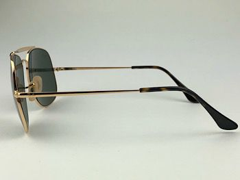 Ray Ban  RB3561 - Dourado - 001 - 57/17 - Óculos de sol
