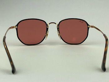 Ray Ban  RB3579-N - Dourado - 001/E4 - 58/15 - Óculos de sol