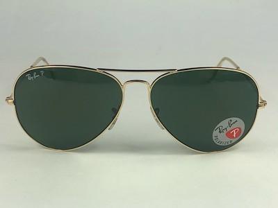 Ray Ban - RB 3025 - Dourado - 001/58 - 62/14 - Óculos de Sol