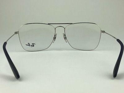 Ray Ban - RB 3610V - Prata - 2501 - 58/15 - Armação para Grau